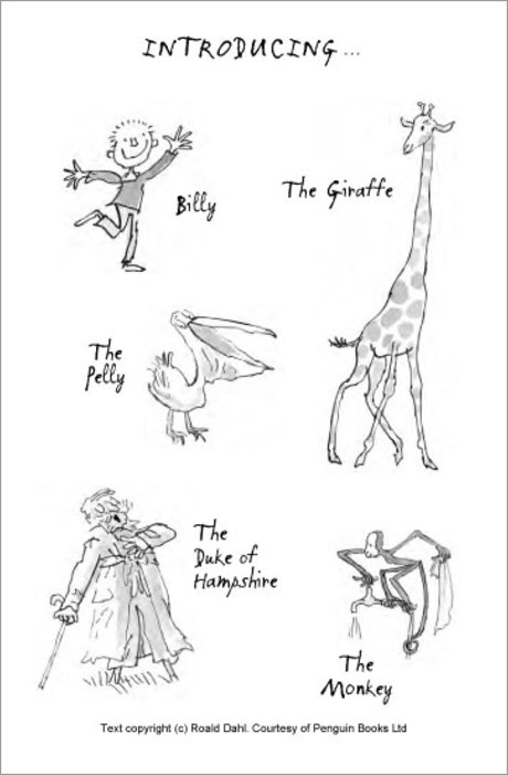 The Giraffe and the Pelly and Me (Colour Edition