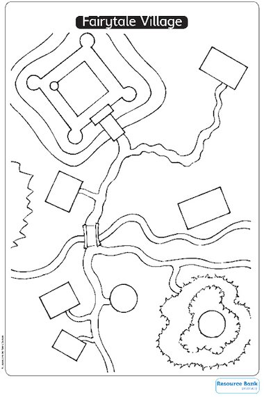 Fairytale Village worksheet