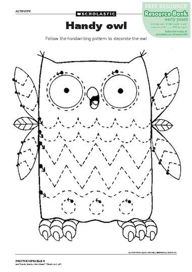 Handy owl