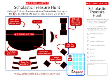 Scholastic Treasure Map