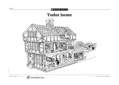 Traditional Tudor house