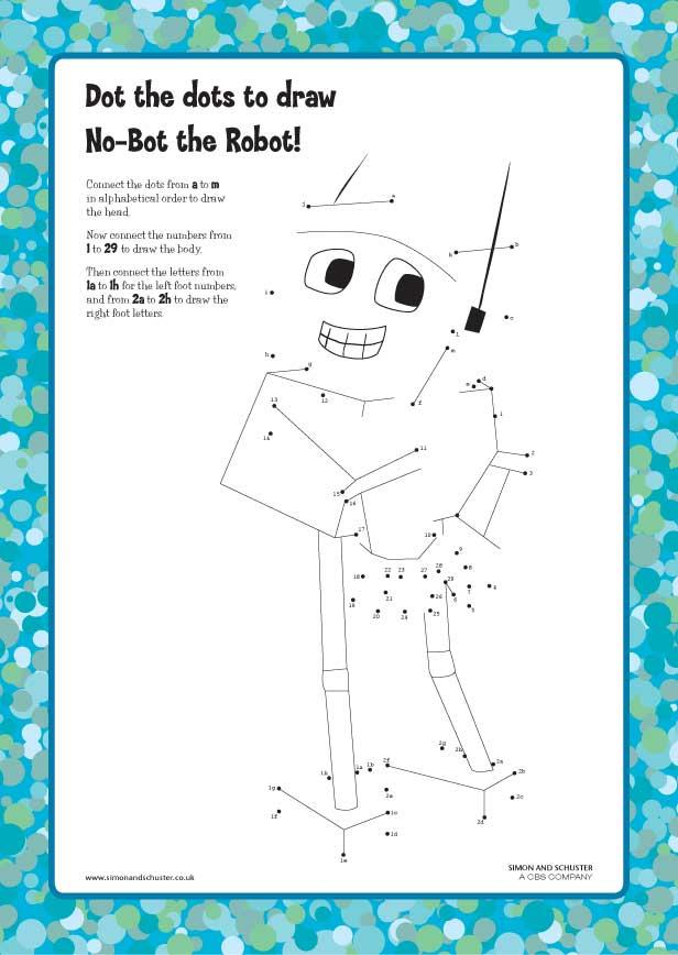 No Bot The Robot Dot The Dots Scholastic Kids Club