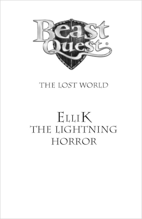 Beast Quest Series 7 #41: Ellik the Lightning Horror