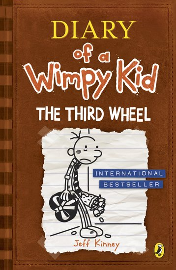 Diary Of A Wimpy Kid 7 The Third Wheel Scholastic Kids