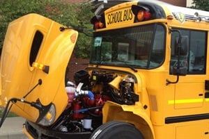 IC Bus builds 1st CE school buses with Cummins ISB