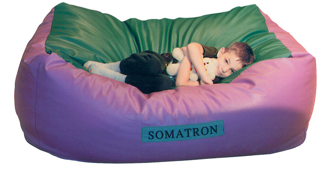 somatron body pillow with vibrations