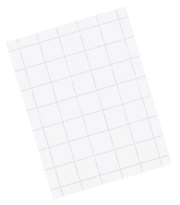 Pacon Graph Paper, 8-1/2 x 11 Inches, 1/4 Inch Graph Ruled