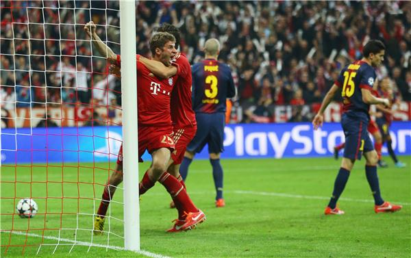 Image result for thomas müller 2013 barcelona