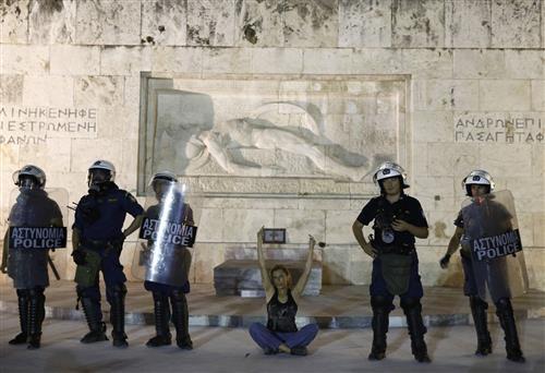 Resultado de imagem para Athens, Greece, 15 July 2015. Photo by Yannis Behrakis/Reuters
