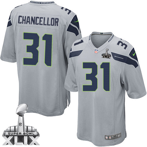 Kam Chancellor Jersey Gray