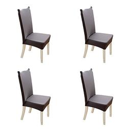 stretch dining chair covers deck chairs forcheer slipcover removable seat cover org