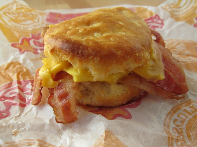 Bacon, Egg and Cheese Biscuit from Hardee's | Nurtrition