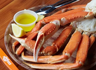 Snow Crab Legs from Hooters | Nurtrition & Price