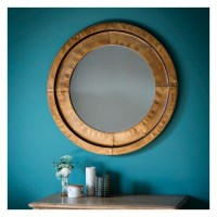 Metal Mirror: Moorley Round Wall Mirror | Select Mirrors