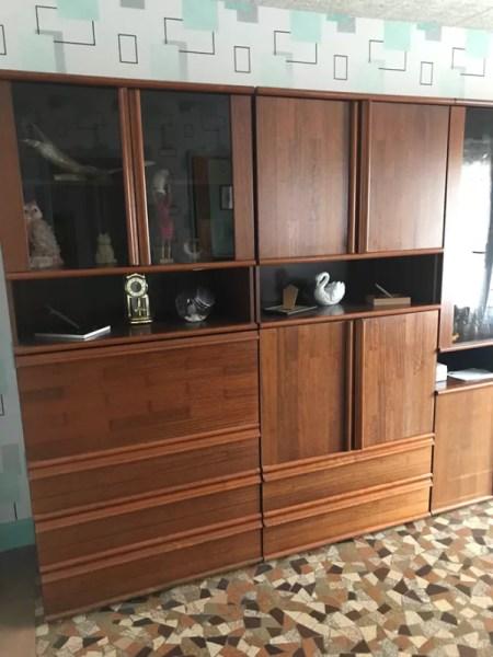 meuble living de salon vintage annees 60 selency