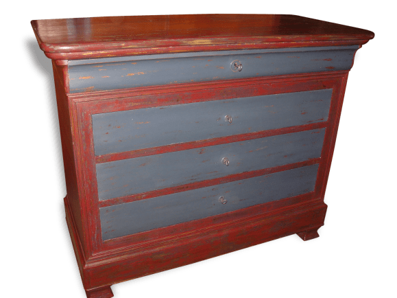 commode louis philippe relookee