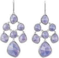 MONICA VINADER - Siren chandelier sterling silver and blue ...