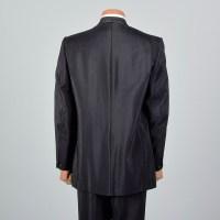 43L Mens 1960s Black Tuxedo Shawl Collar Tux Formal ...