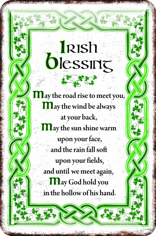 Irish Metal Sign  Irish Blessing 5390711524830  eBay