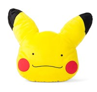 Pokemon Ditto Pikachu Transformation Face Cushion Pillow