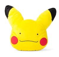 Pokemon Ditto Pikachu Transformation Face Cushion Pillow ...