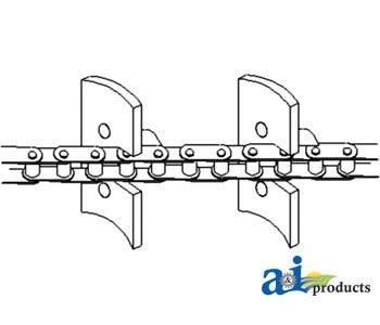253167M91 Massey Ferguson Clean Grain Elevator Chain