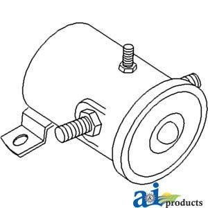 70237136 Allis Chalmers Starter (12 Volt) Solenoid Models