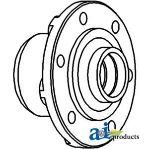 70263039 Allis Chalmers Front Wheel Hub For Models 6060