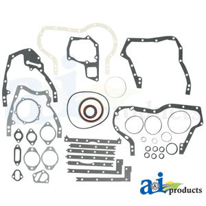 70277087 Allis Chalmers Lower with Seals Gasket Set Fits