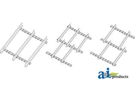 71149940 Gleaner Rear Feeder House Chain Assembly Models