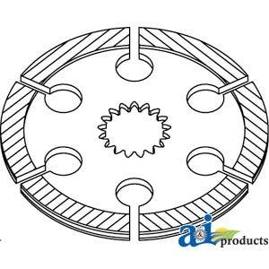 86014786 Ford New Holland Brake Disk Models 8770, 8870
