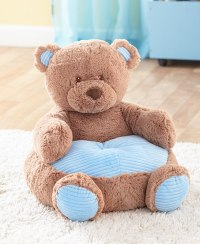 Kids Plush Chair Animal Shaped Ultra Soft Cuddly Furniture ...