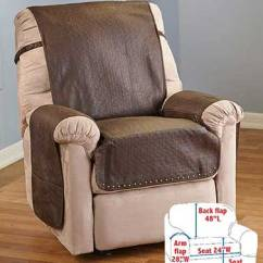 Chair Covers Leather Stool And Table Look Recliner Cover With Memory Foam Cushioning Give Your A Stylish Upgrade That Also Protects The Its Soft Faux Construction Features