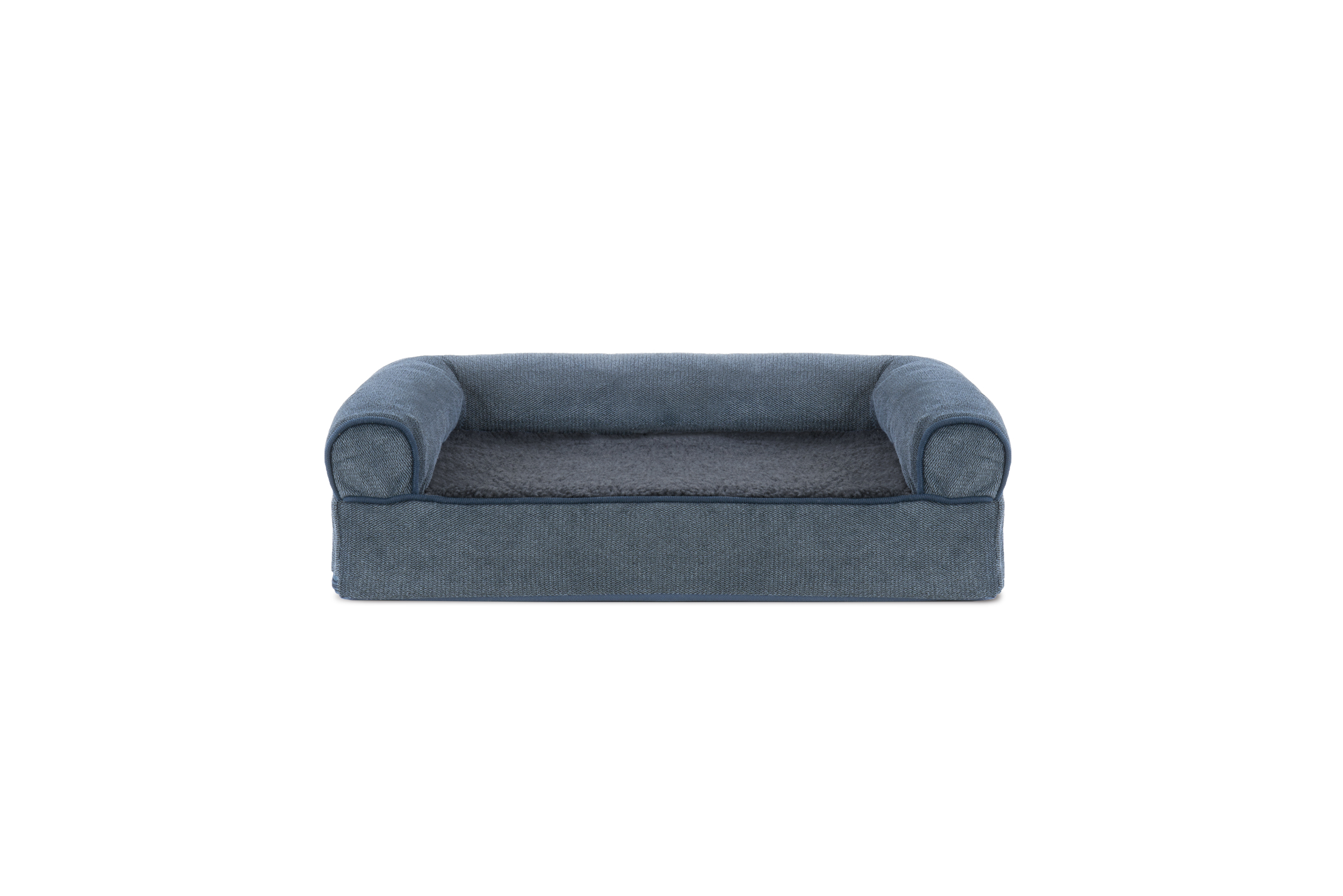 soft sofa dog bed tylosand 3 seater cover faux fleece and chenille woven orthopedic pet