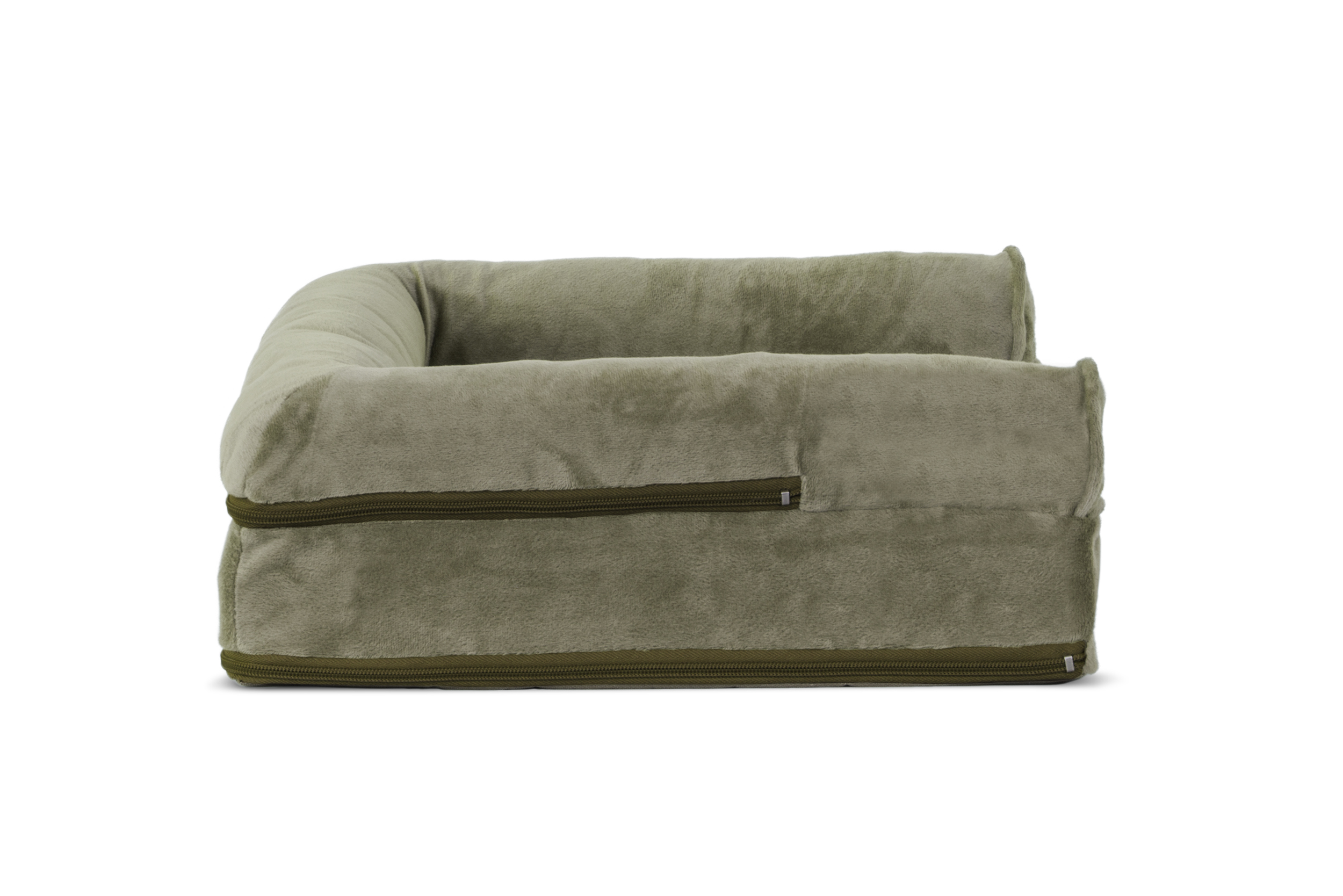 orthopedic sofa freeport slate memory foam reviews faux fur and velvet pet bed dog couch ebay