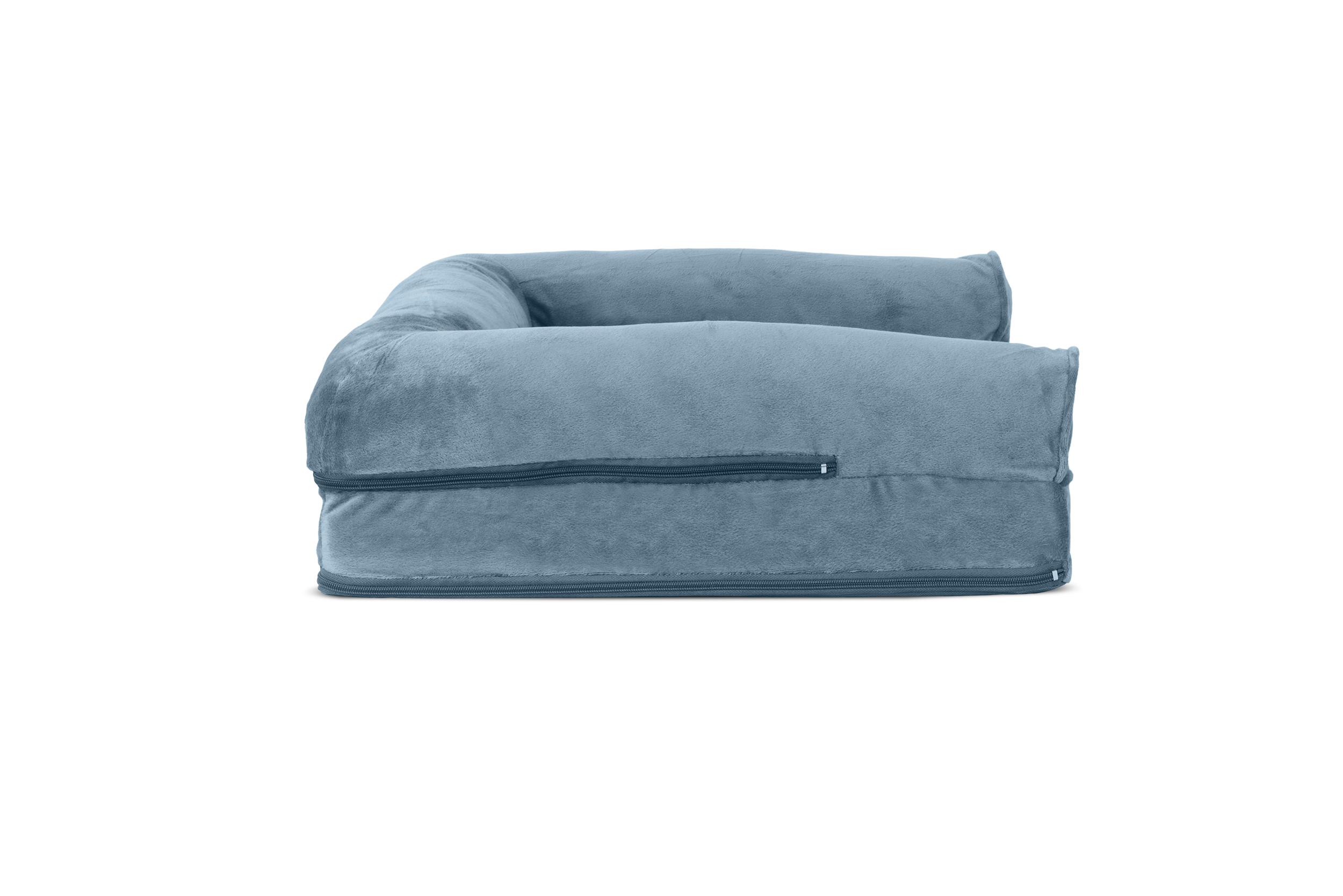 orthopedic sofa cincinnati faux fur and velvet pet bed dog couch ebay