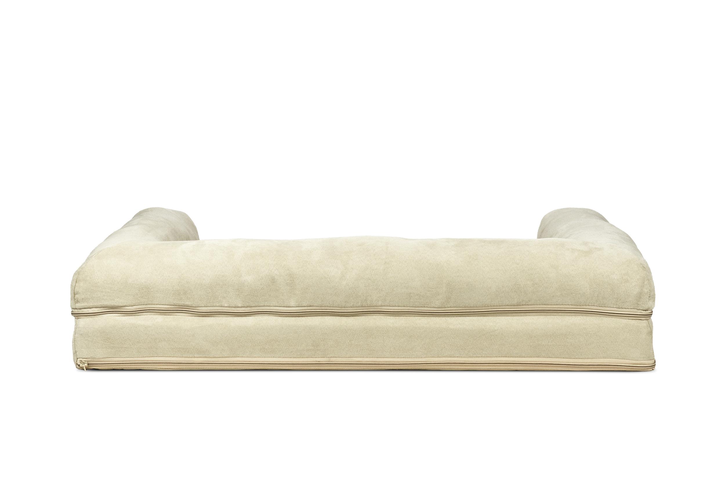 orthopedic sofa bed uk mainstays sleeper brown faux leather orthopaedic brokeasshome