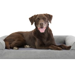 Sofa Dog Bed Skymall Small Sofas For Cottages Uk Faux Fur And Velvet Orthopedic Pet Couch Ebay