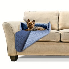 Navy Blue Pet Sofa Cover Monarch Reclaimed Look Tempered Glass Table Furhaven Buddy Bed Furniture Light
