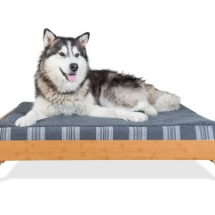Enchanted Home Mackenzie Pet Sofa Tov Furniture Camden Linen Furhaven Bed Frame For Style And Deluxe Mattress Dog Beds Ebay The Jumbo Size Also Features Extra Center Reinforcement To Support Larger Pets Pre Drilled Holes Easy Assembly
