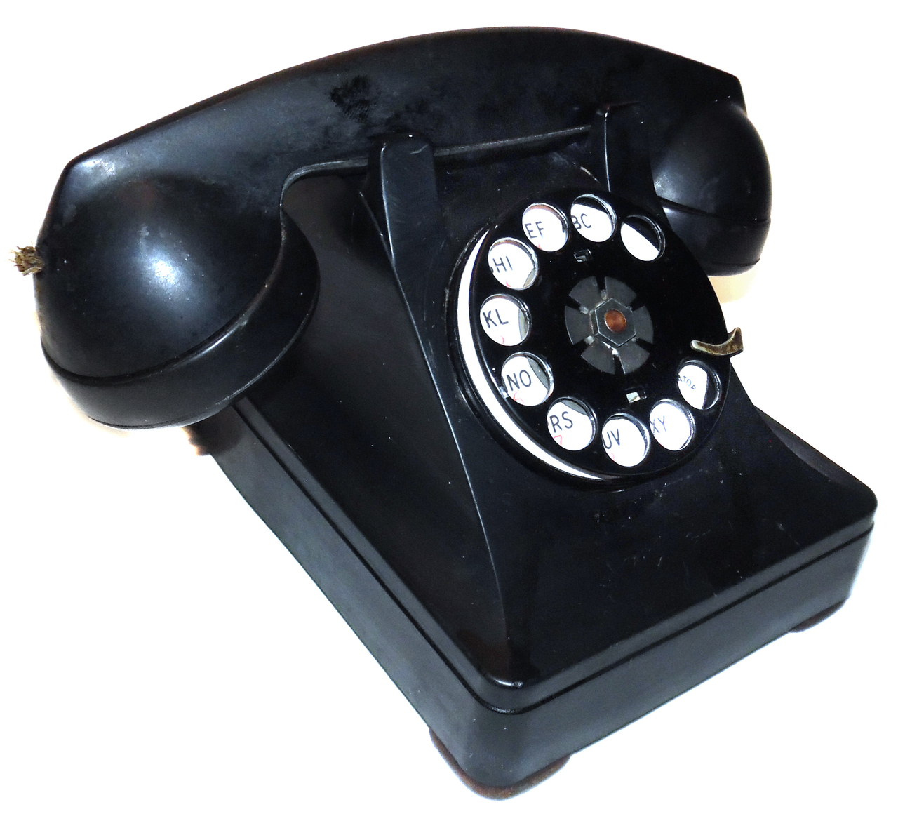 hight resolution of details about vintage western electric model 302 rotary dial desk telephone with f1w handset