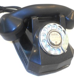 no breaks or major damage to the phone body itself needs new plug and a good polish great art deco style desk phone to restore for your next project  [ 1280 x 1190 Pixel ]