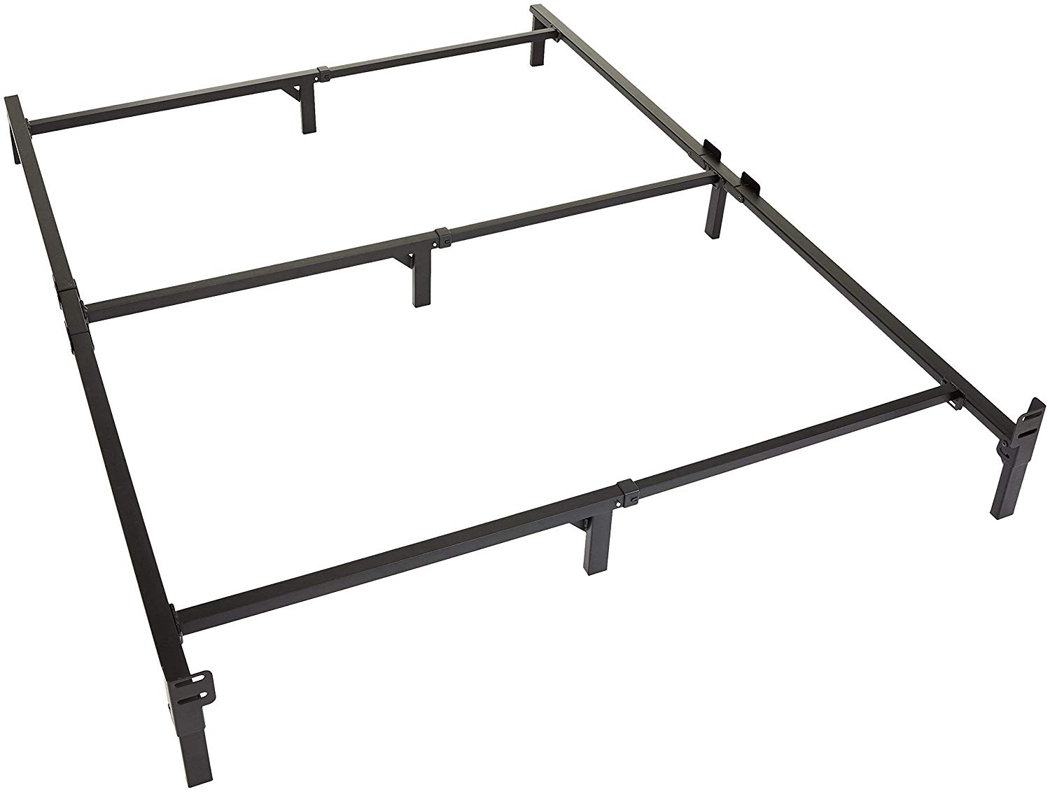 Amazon Basics 9 Legs Support Bed Frame For Box Spring And