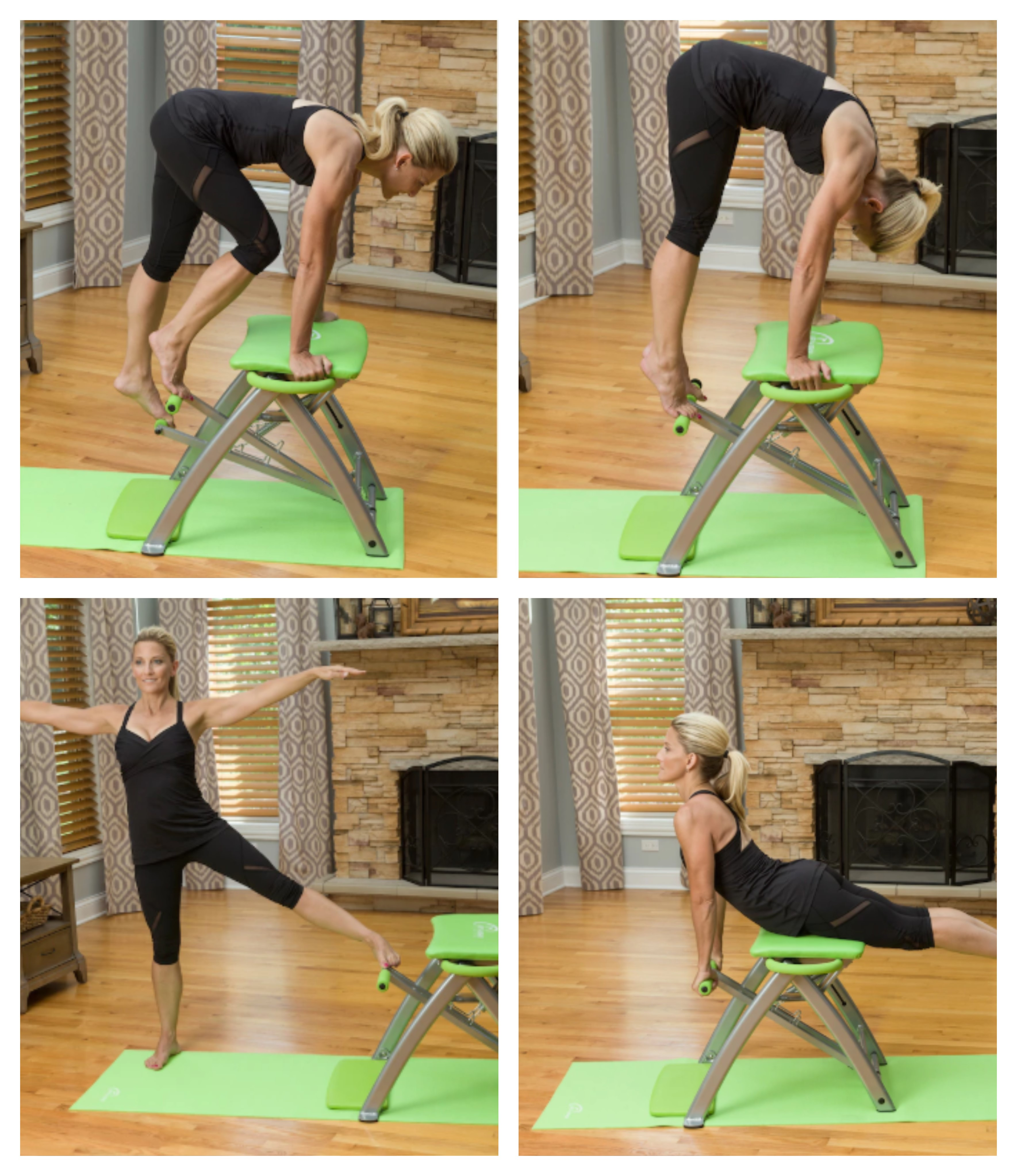 malibu pilates chair foam toddler new pro with sculpting handles and workout