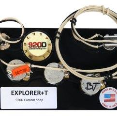 920d custom shop gibson epiphone explorer wiring harness cts gibson explorer wiring harness [ 1600 x 1194 Pixel ]