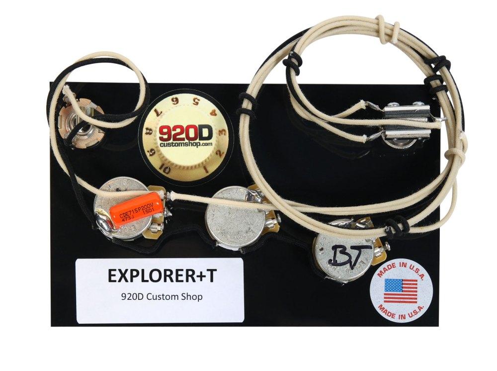 medium resolution of 920d custom shop gibson epiphone explorer wiring harness cts gibson explorer wiring harness