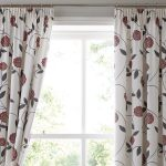 Save S Bargain Rosemont Red Natural Kitchen Unlined Cotton Curtains 5 Sizes Ebay