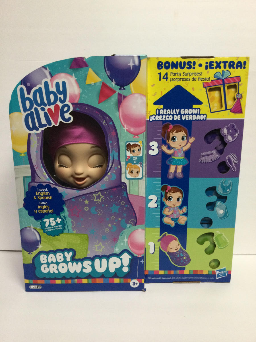 Baby Alive Real Surprises Baby Doll Bonus Pack : alive, surprises, bonus, Alive, Grows, Bonus, Pack,, BONUS, Party, Surprises