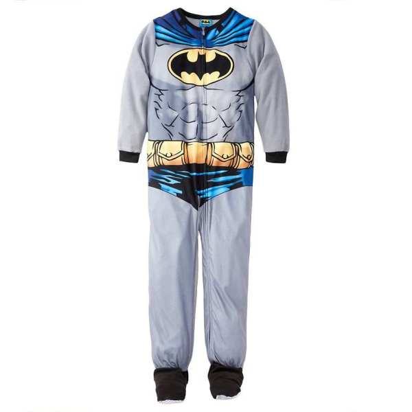 Batman With Cape Footed Blanket Sleeper Pajamas Size 6 7