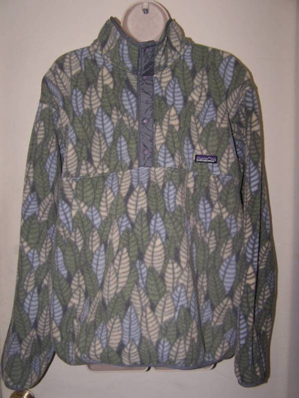 L Vintage Patagonia Synchilla Fleece Snap T Jacket